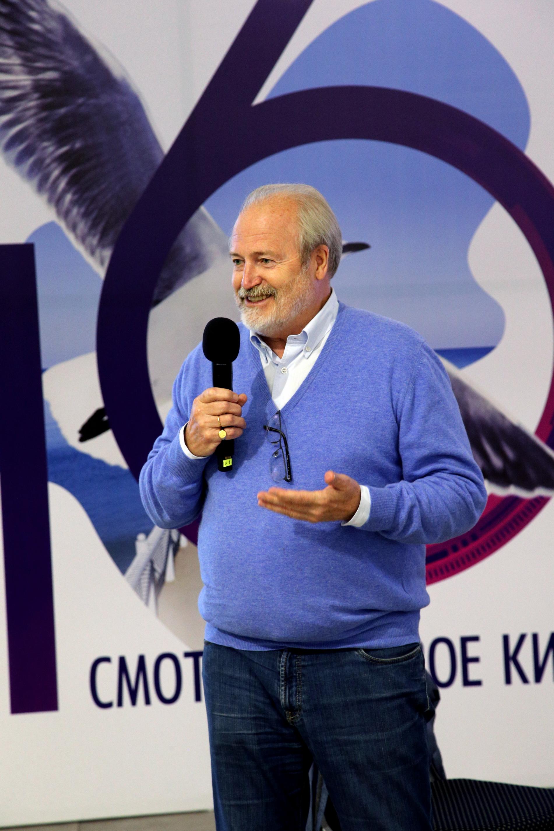 «Исчезнет человек – тогда все станет бессмысленным»: Владимир Хотиненко провел мастер-класс на фестивале «Балтийские дебюты»