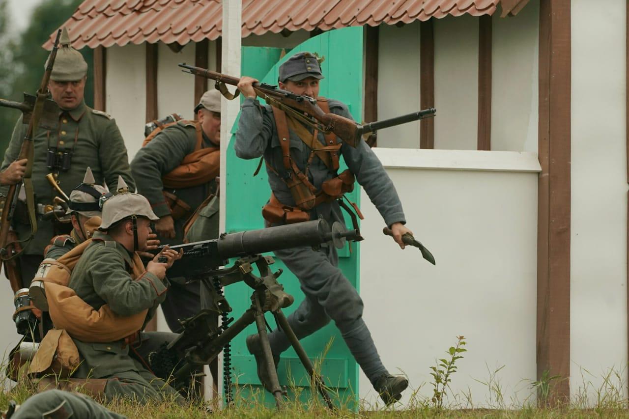В Калининградской области состоялся военно-исторический фестиваль «Гумбинненское сражение»