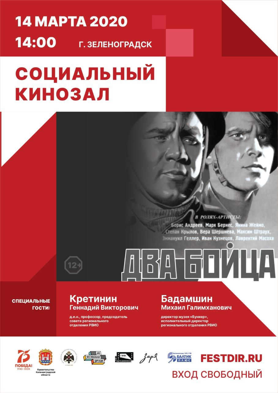 В Калининградской области стартует проект «Социальный кинозал»
