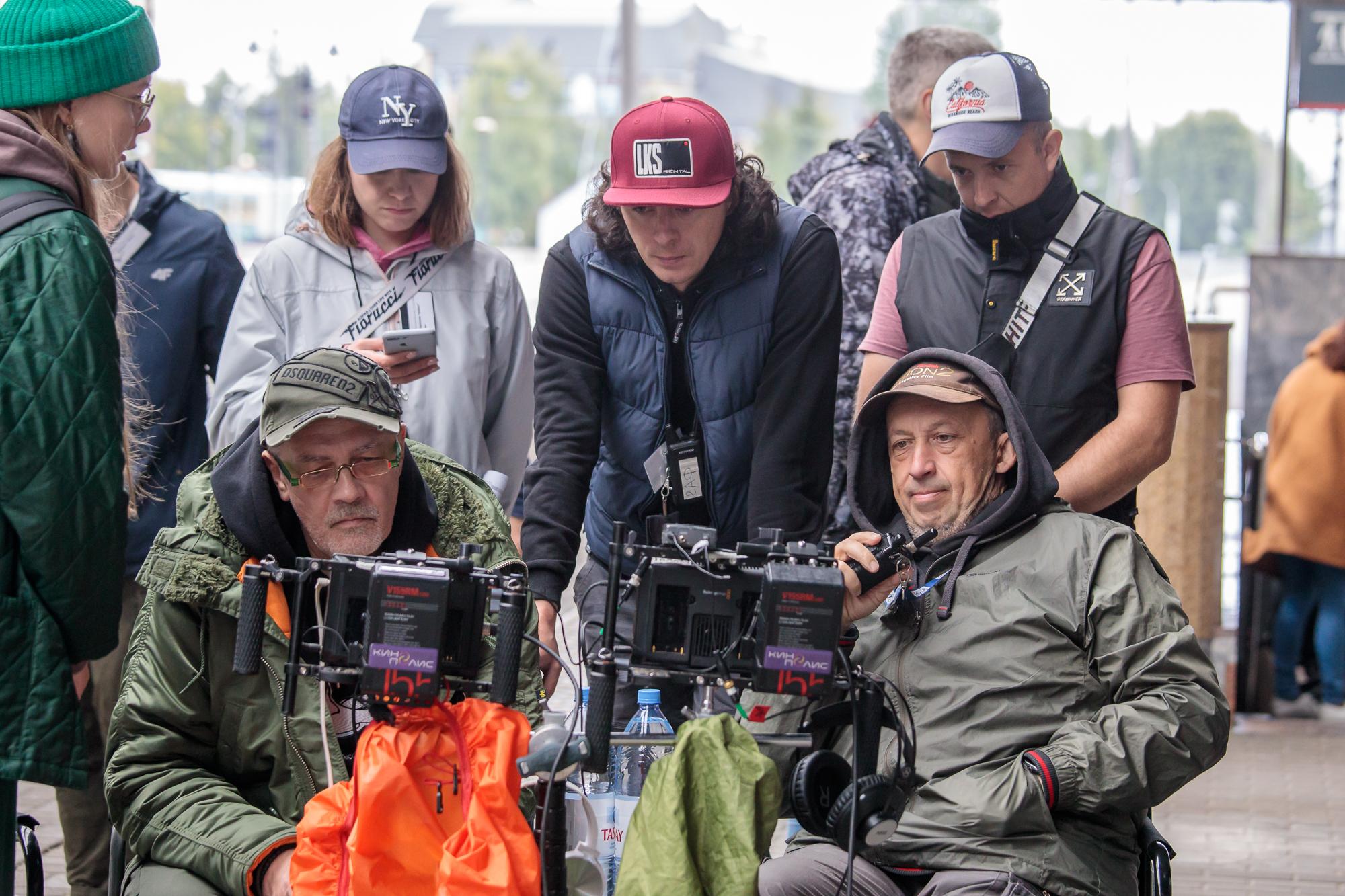 «Чайки» взлетели: фоторепортаж со старта съёмок нового сериала
